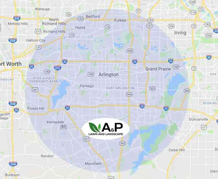 residential lawn care service map